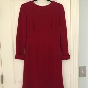 Frascara Red Wool Dress